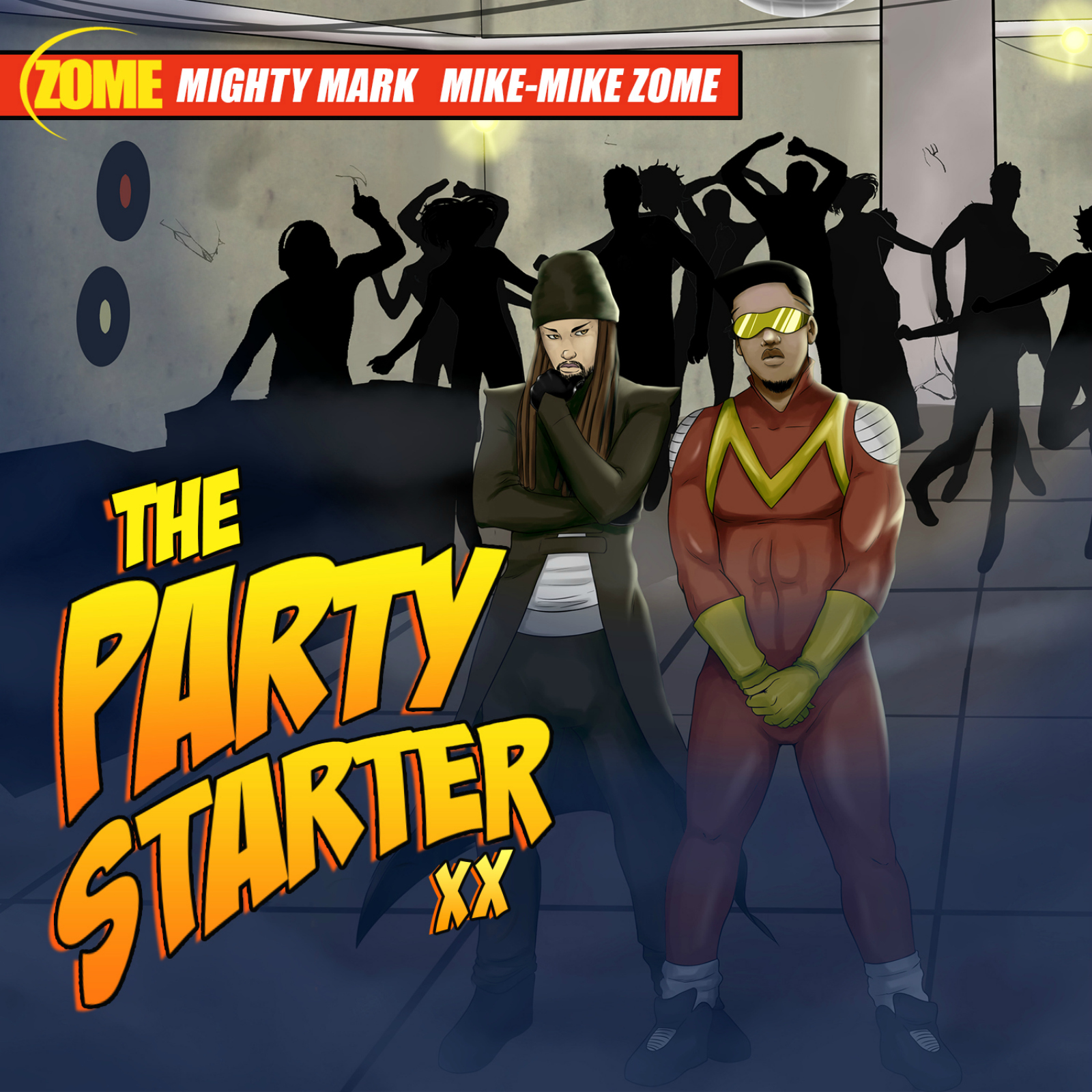 The Party Starter XX Cover