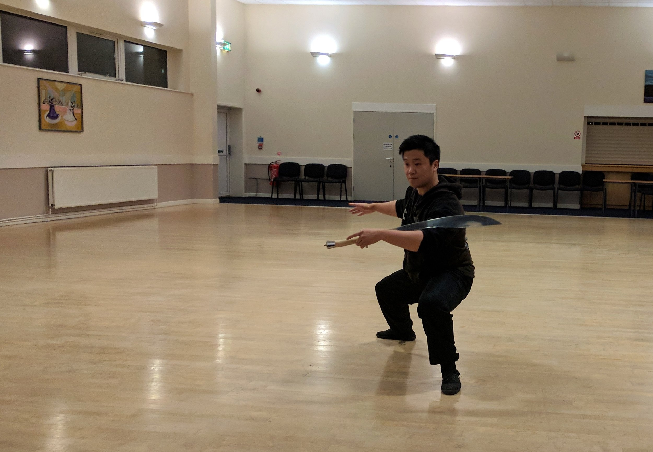 Shaun Demos the Sabre Form