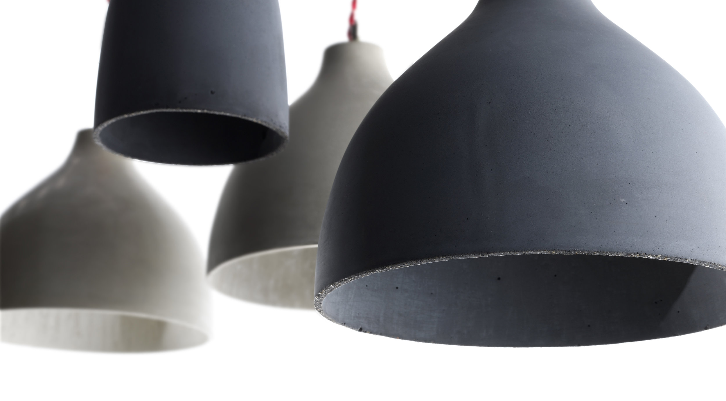 Heavy by Benjamin Hubert / Decode London, available in mouse gray, bluish gray, white and warm brown