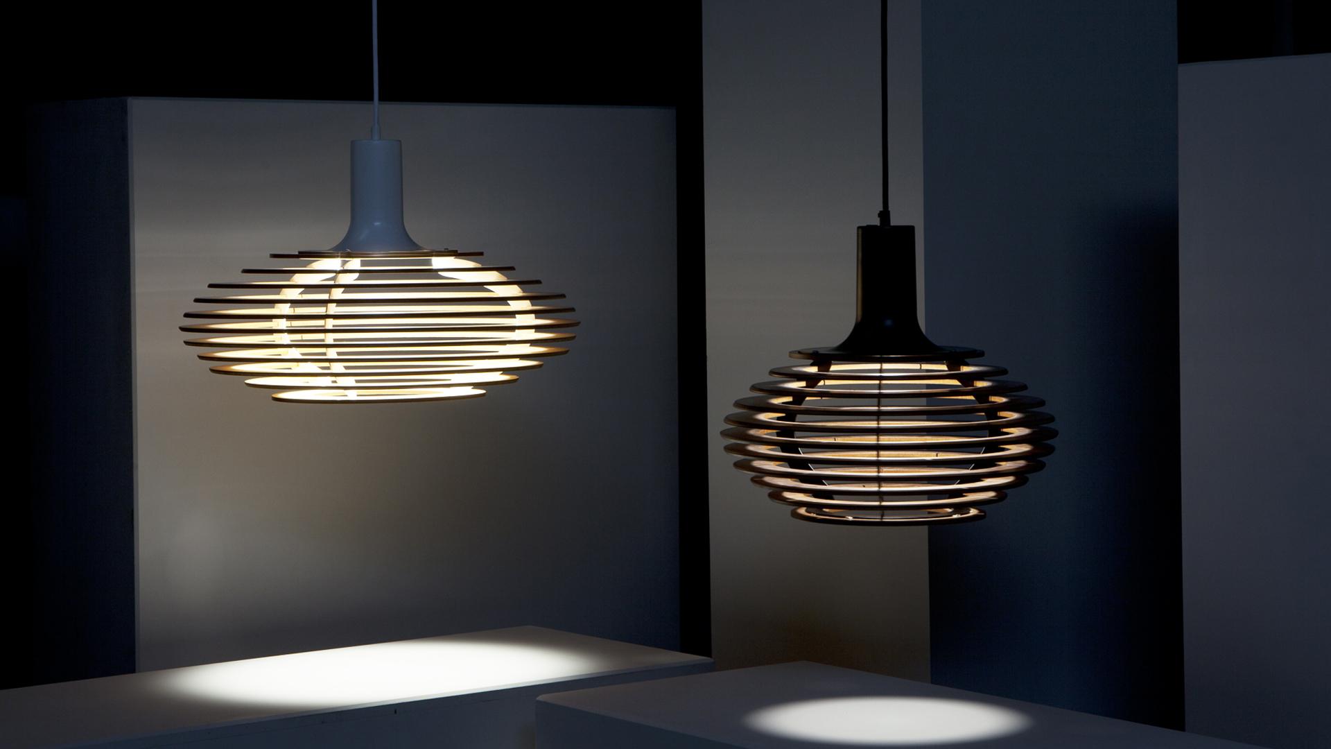 Dipper by Viewport Studio / Decode London, unusual and functional chandelier
