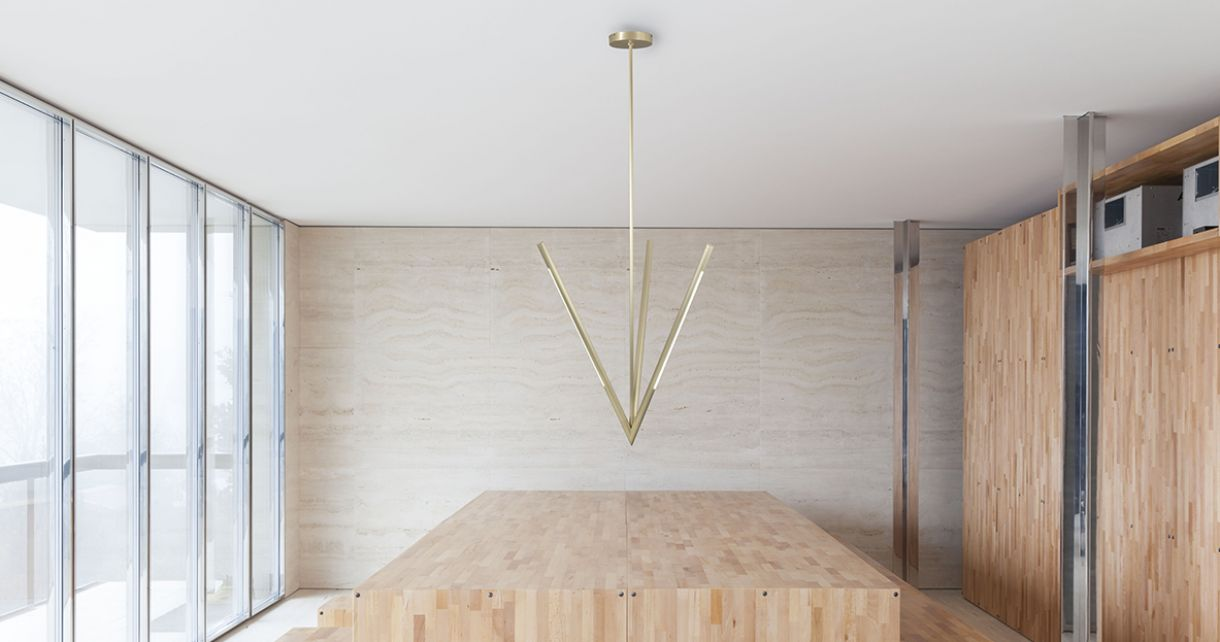 Asfodelo, light suspension with special geometry
