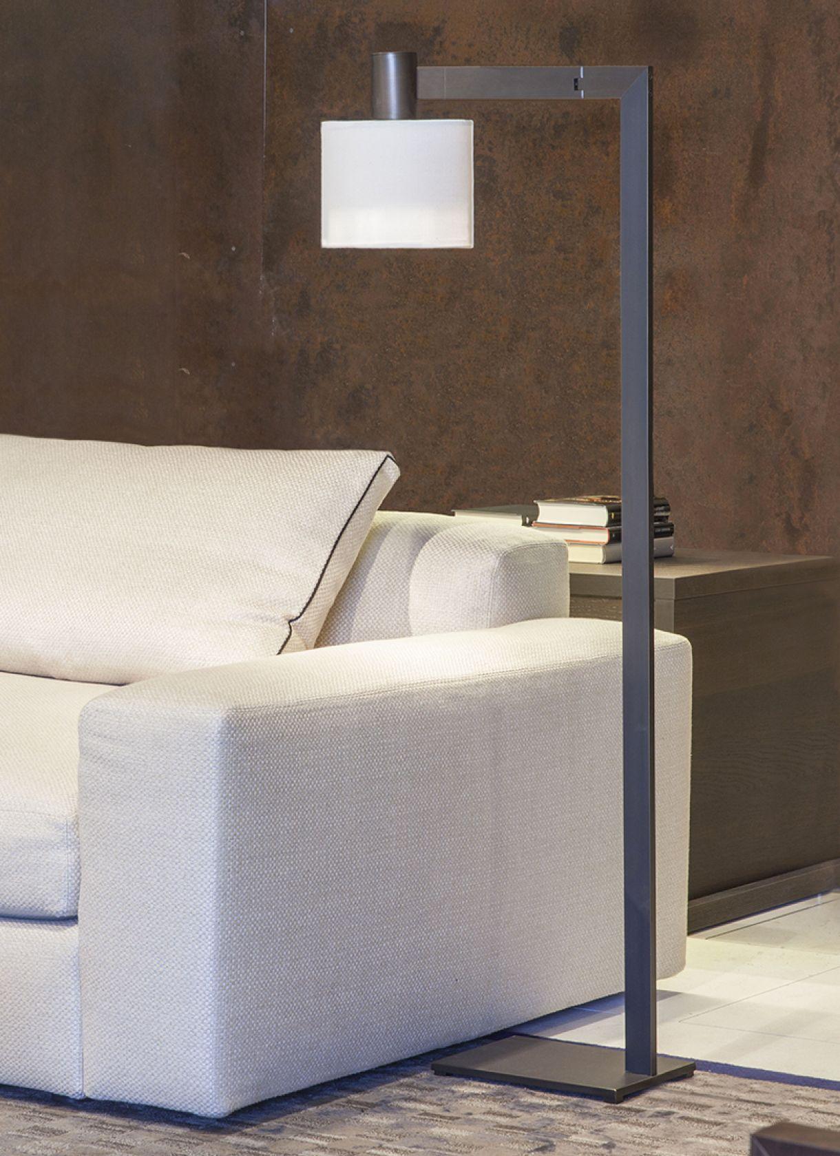 Mahari Joy, refined floor lamp with simple lampshade