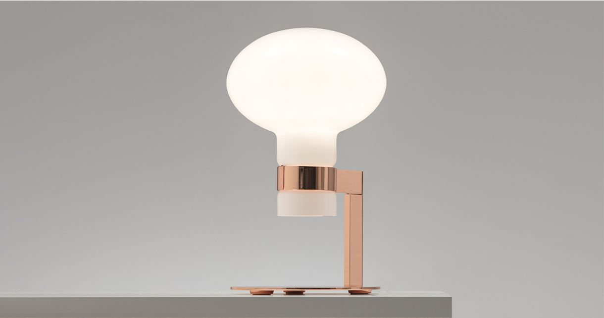 Lou, table lamp gives life to things and forms emotions