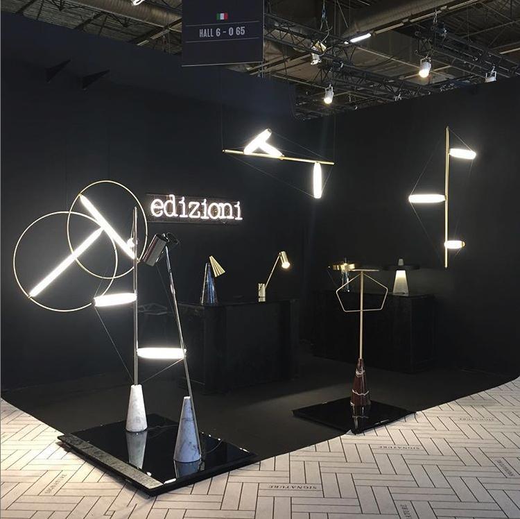 Edizioni Design booth, Maison & Objet january 2019