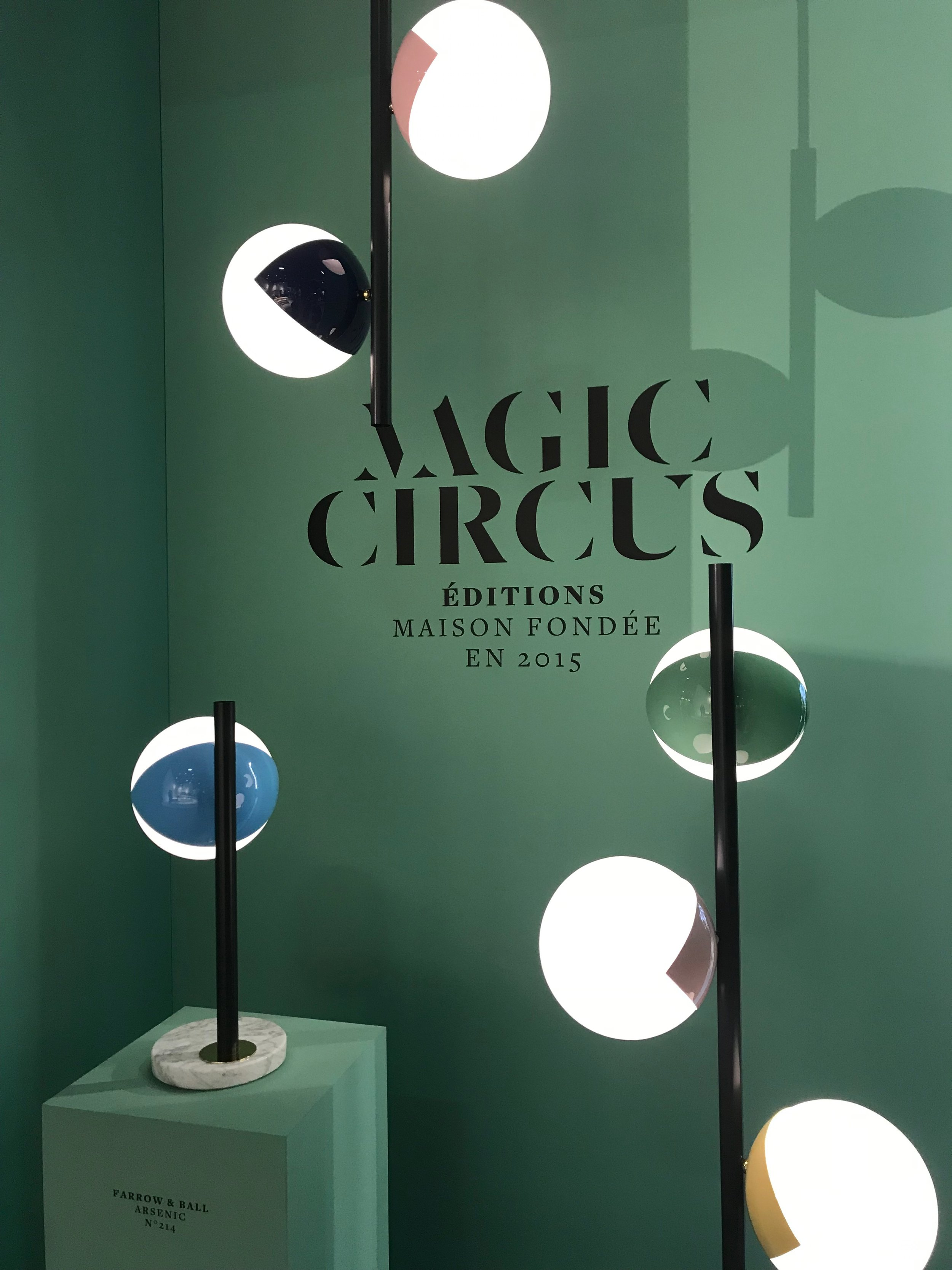 Magic Circus Éditions booth, Maison & Objet january 2019