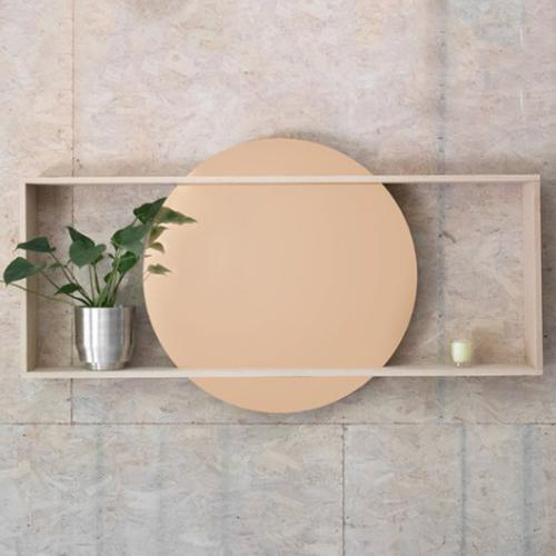 Day Yield Design Mirror / solid oak