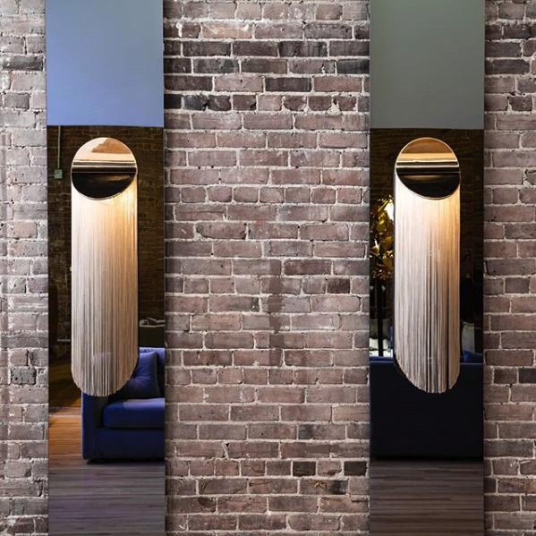 Wall Mount / Lighting: Warm White LED (3000K, 1500 Lumens), Dimmable / pop up store @elementdebase, photo @jeansebastiensenecal