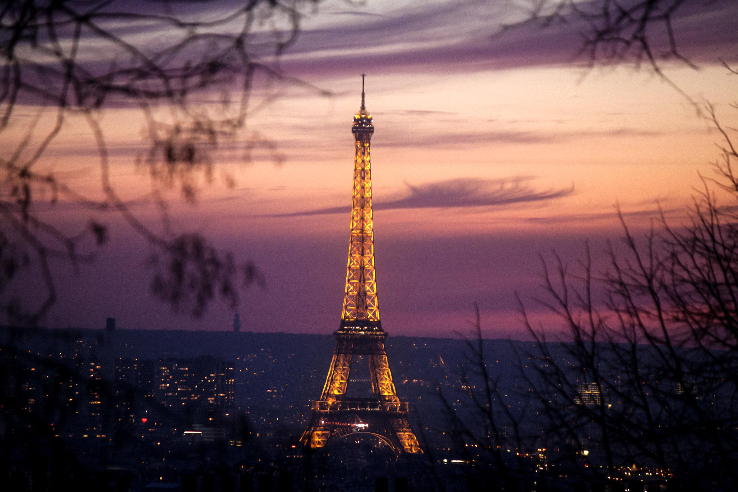 We are in Paris