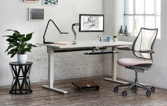Humanscale (United States), Workplace design hall, Stand No. EG-45