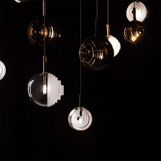 Dark & bright star / Dechem studio for Bomma, the endless duel between light and darkness