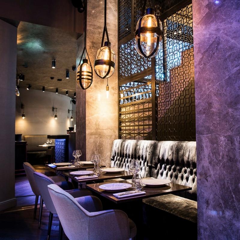 Baroque Restaurant (Geneva, Switzerland) collaboration with K-Architectes, 2017