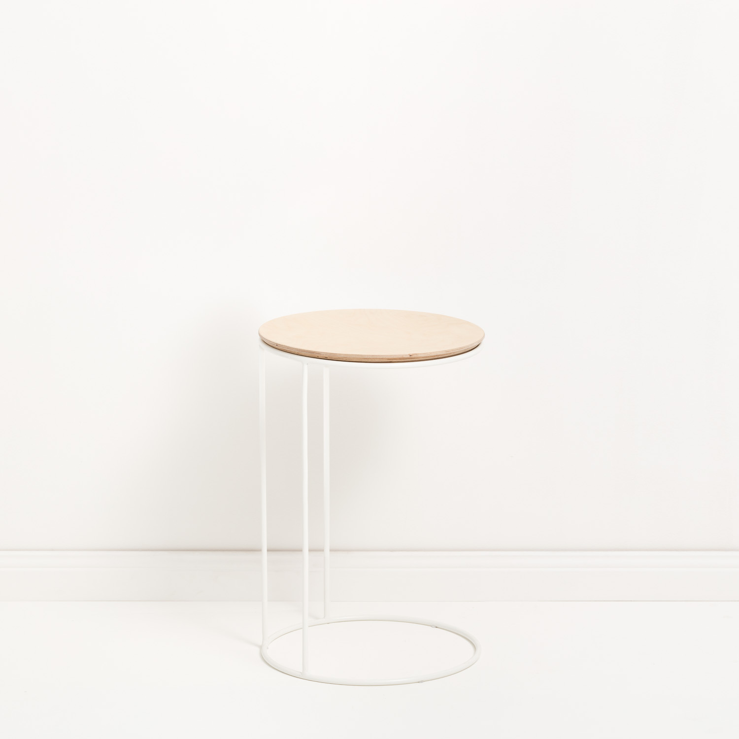 Lilly side table, 40cm (D) x58cm (H), can also be stacked