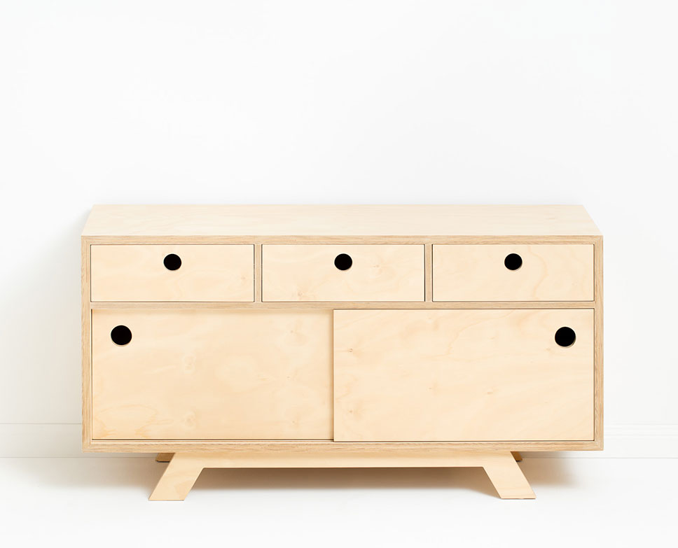 Rocco chest of drawers, 160cm (L) x45cm (D) x84cm (H), 8 drawers