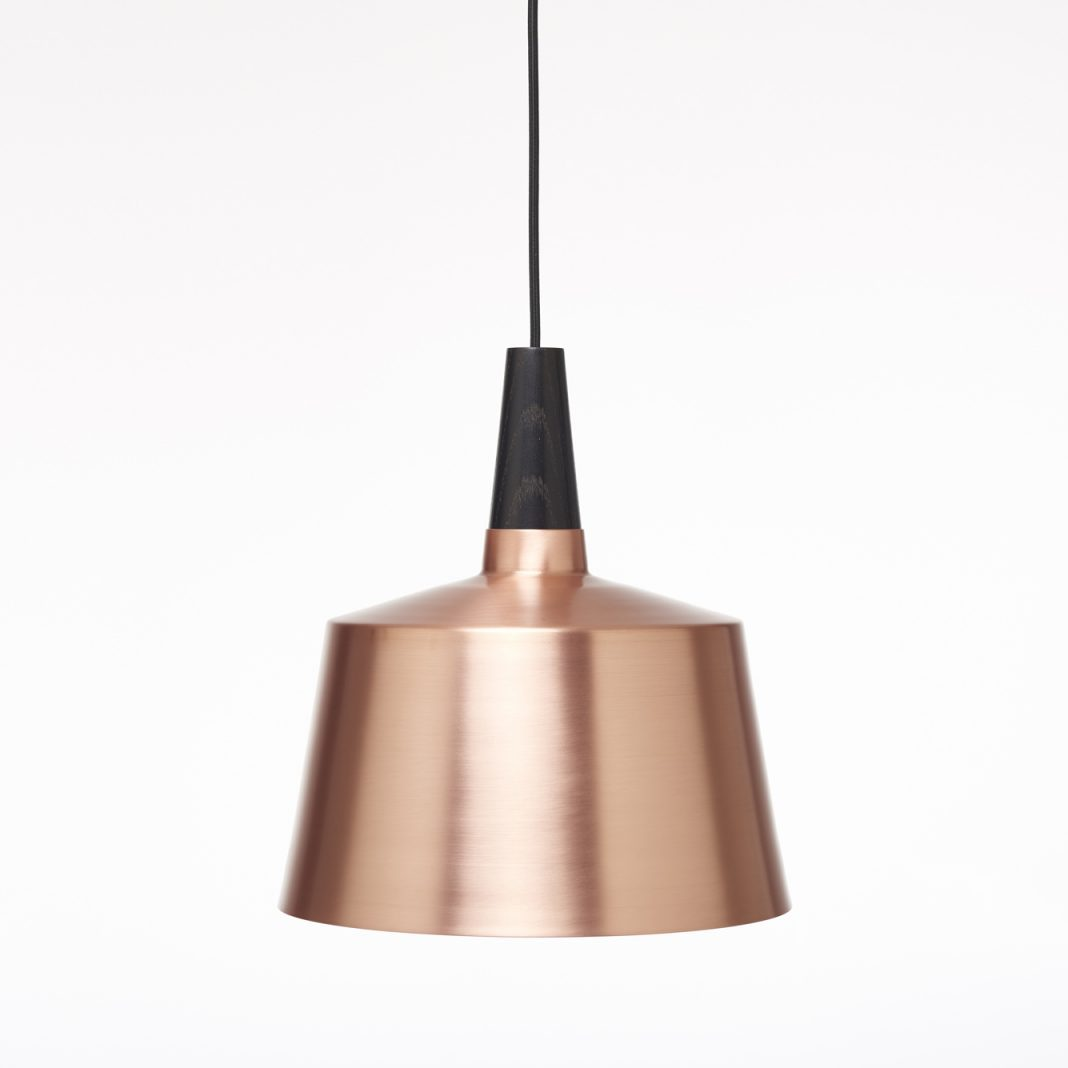 Morse pendant / brass and copper suspension, available in 2 different sizes