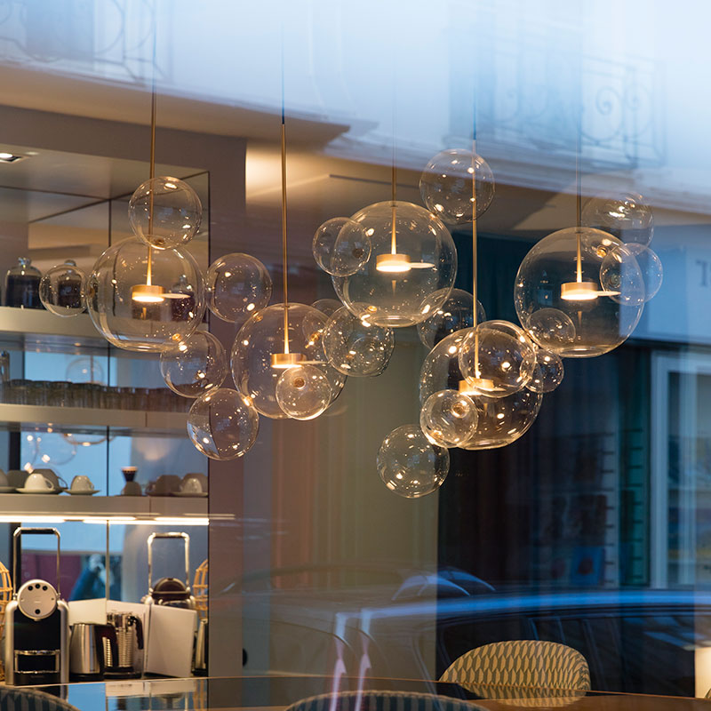 Bolle / Giopato & Coombes, chandelier version