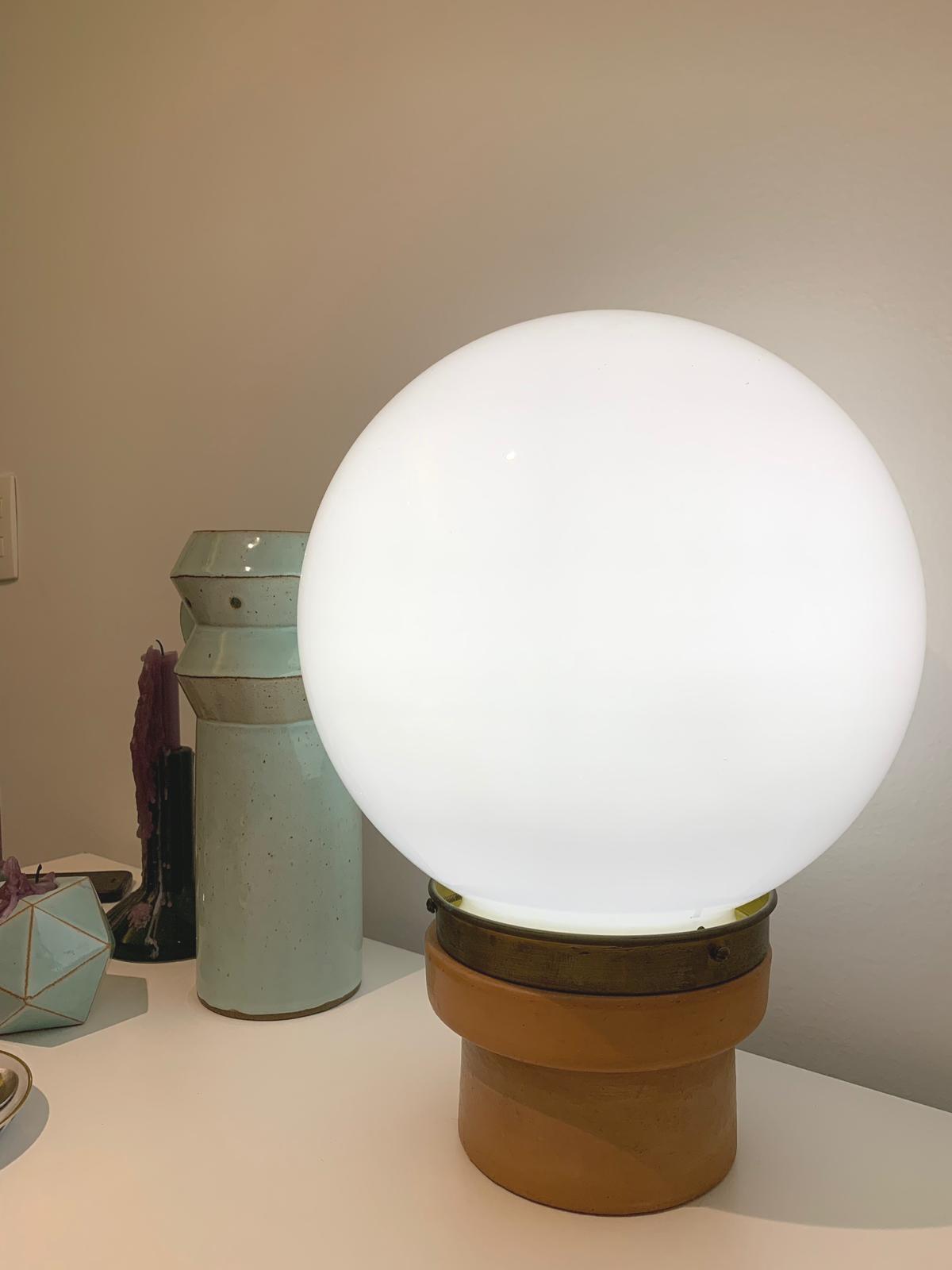 Conterrâneos / Jahara studio, table lamp