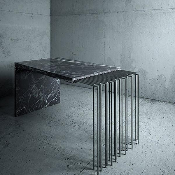 Coffee table Broken Slab / Design 1 Millimetre