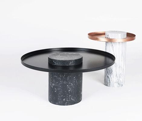 Side table Salute / Design Sebastian Herkner for La Chance