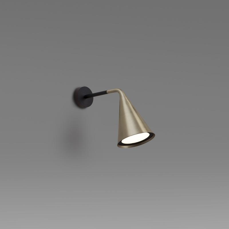 561.42 / Gordon, wall lamp, halogen and LED, 12x22x27cm