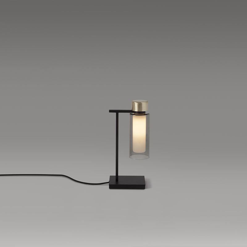 560.31 / Osman, table lamp, halogen and LED, 16x32cm