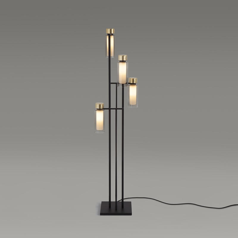 560.64 / Osman, floor lamp, halogen and LED, 38x14x110cm