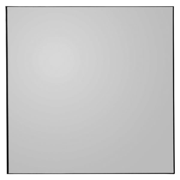 Quadro / AYTM, glass mirror, L90xW90xH2cm, in black, amber, pink, or taupe