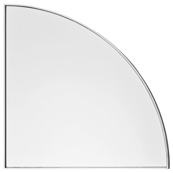 Unity / AYTM, glass and steel mirror, available in black, silver, gold, green or amber