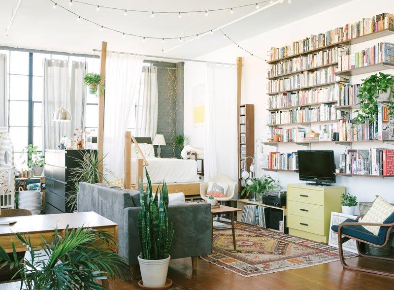Californian style living room (source: Pinterest)