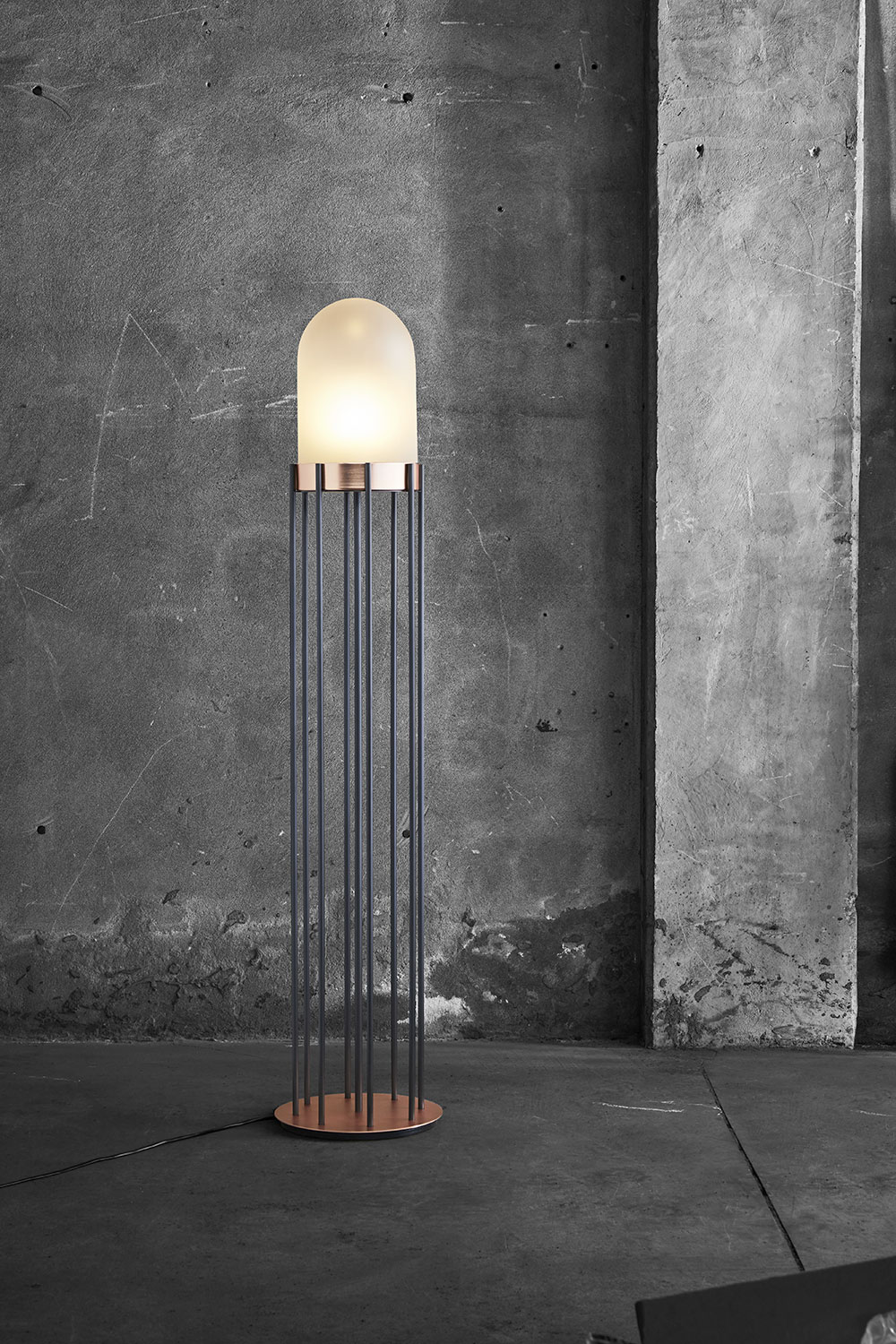 Dome, floor lamp / Valerio Sommella for Mingardo