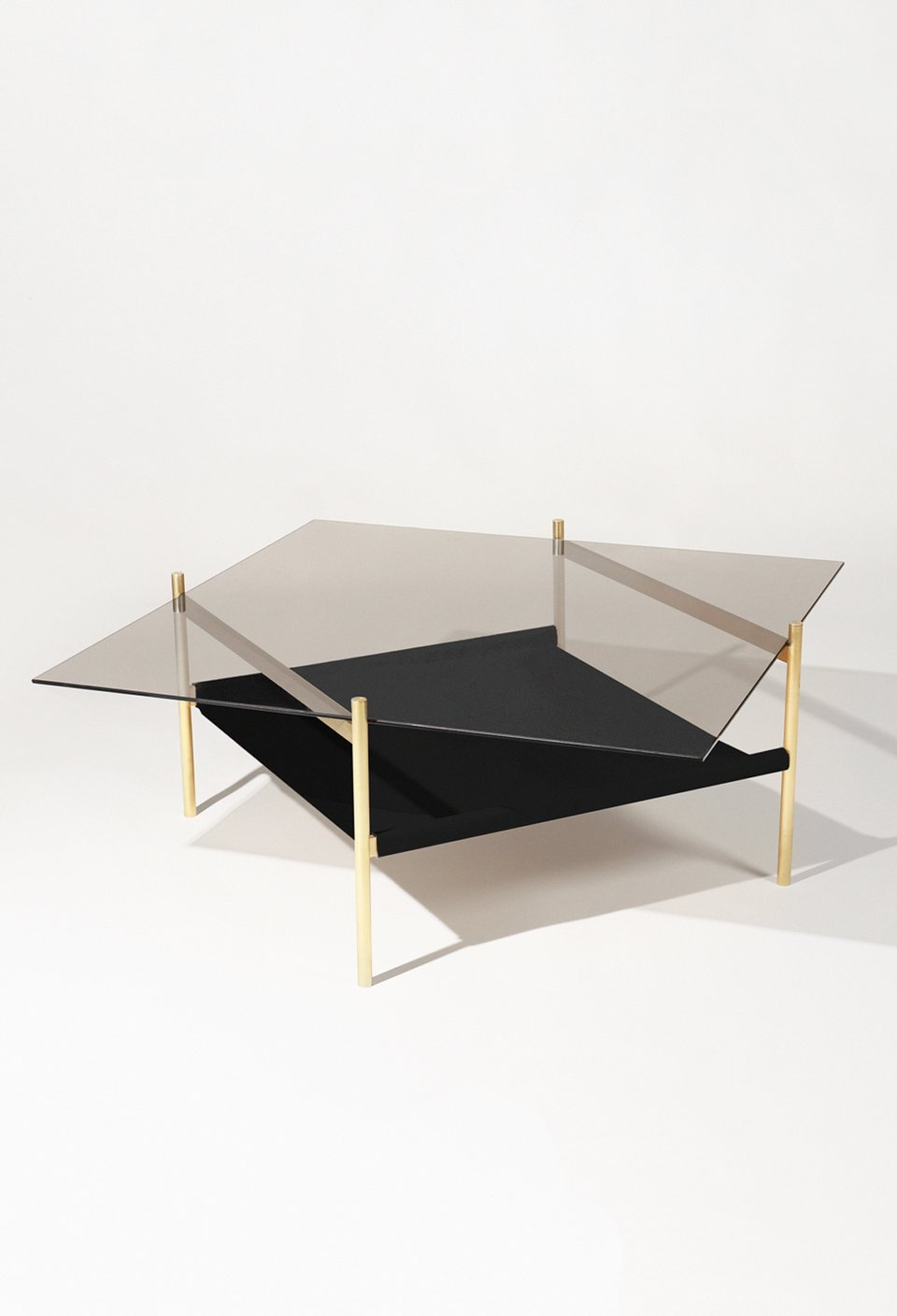 Duotone diamond, coffee table / Yield design
