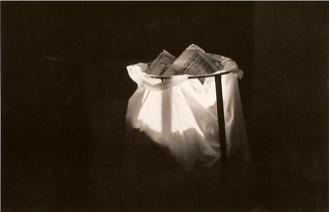 About light, gelatin silver print