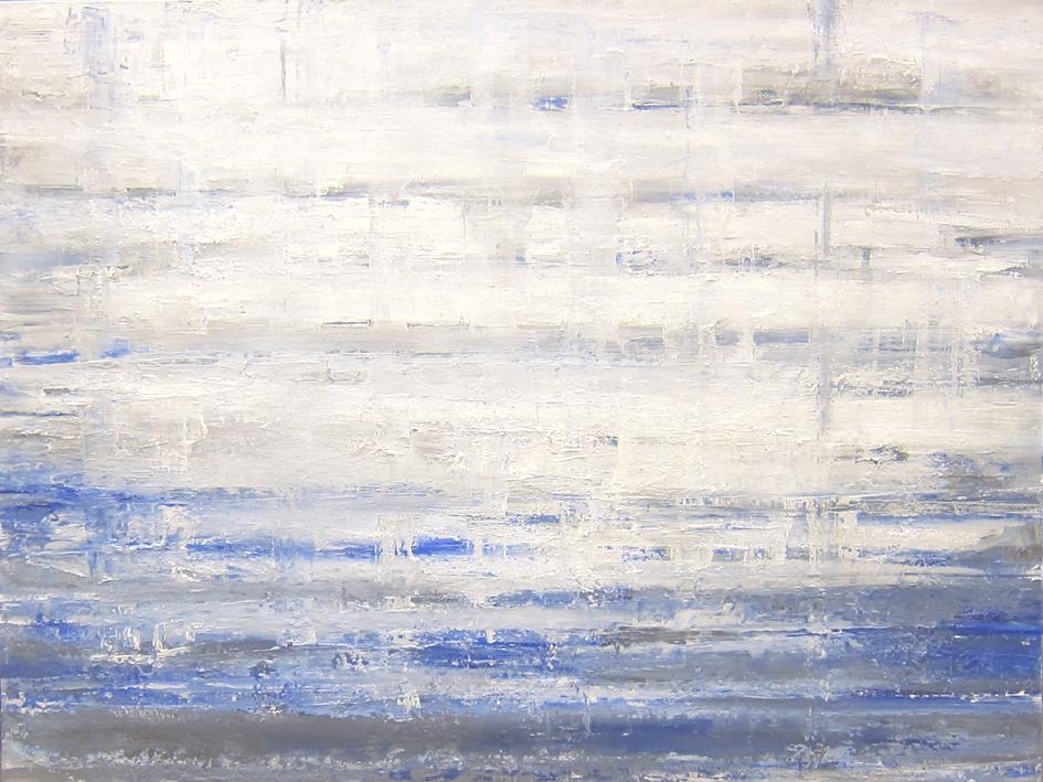 "Through,2016 oil on canvas,48x36"""