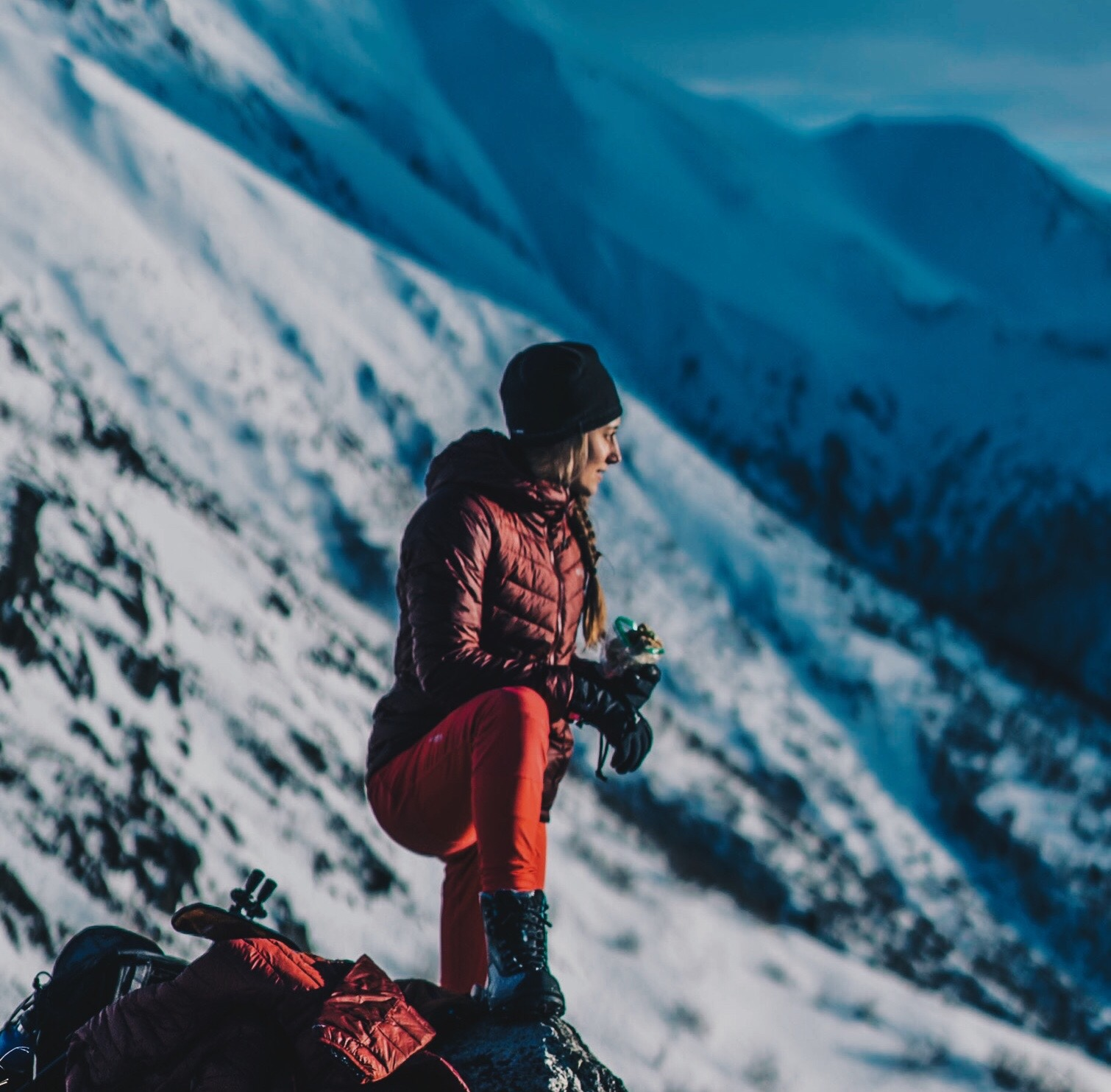 COLUMBIA SPORTSWEAR - X @MAR.CREATES, @TIMKEMPLE, CHUGACH MOUNTAINS, ALASKA