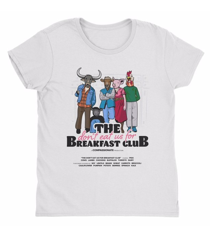 'Don't Eat Us For Breakfast Club'<br>by Boss Vegan
