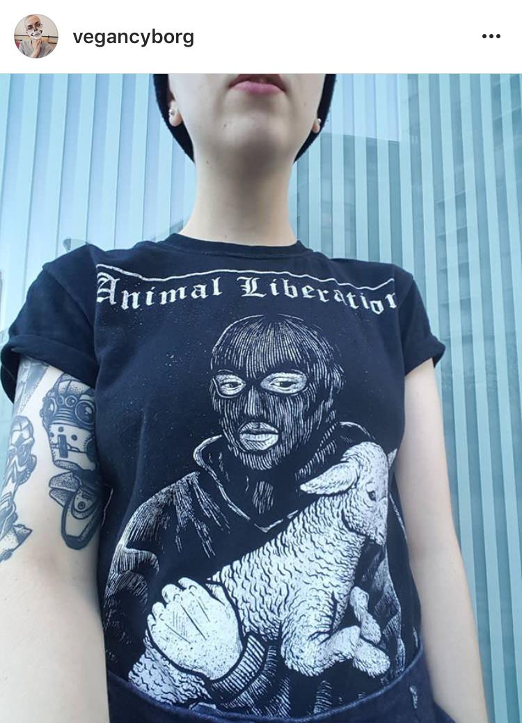 'Animal Liberation'<br>by Blood Tight Apparel