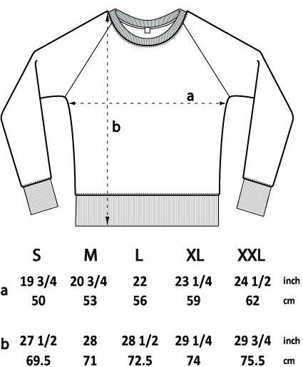 Crewneck jumper dimensions sizing | Bright Zine.jpg
