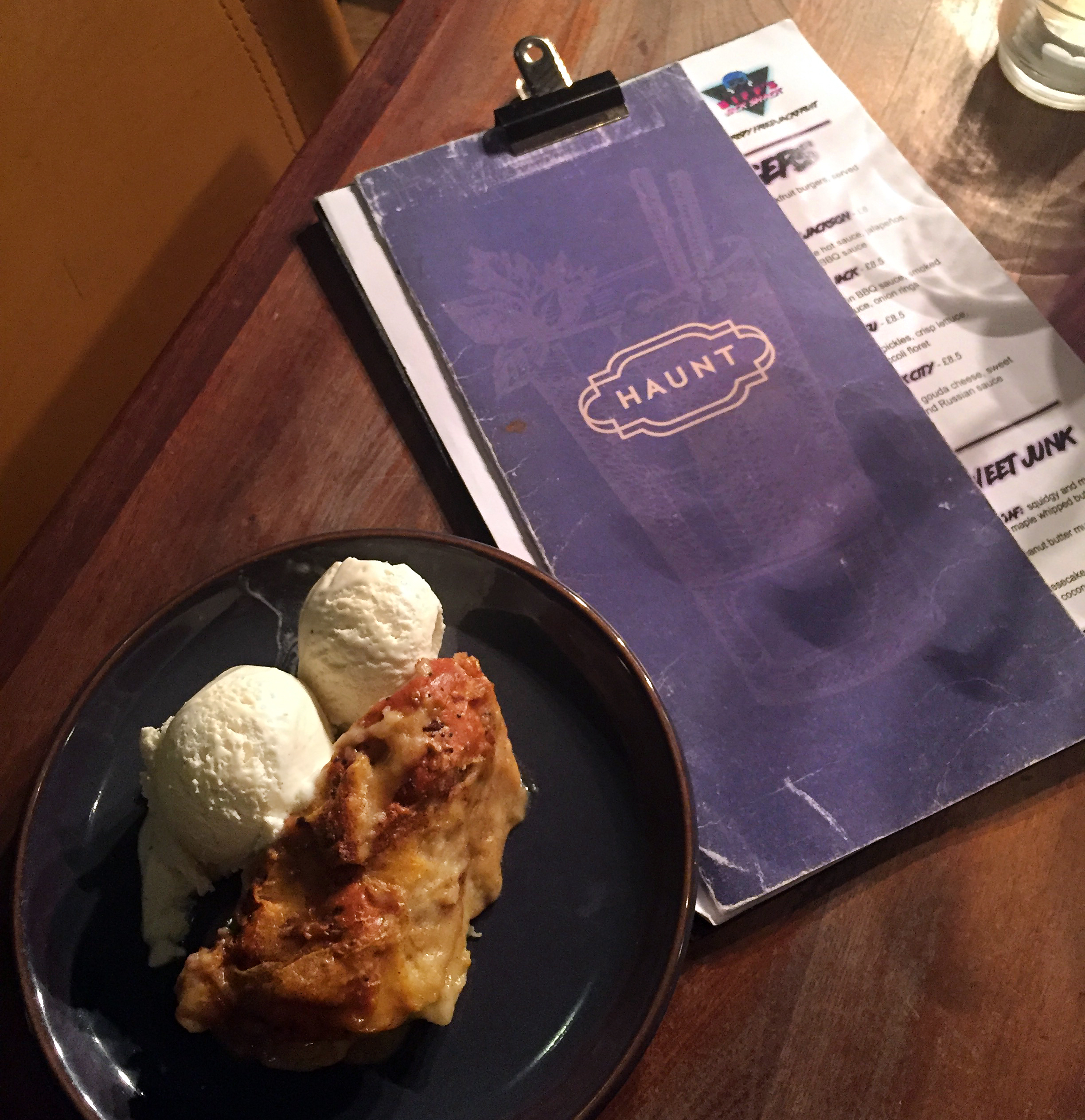Biffs Jack Shack Dessert Pudding | Bright Zine.JPG