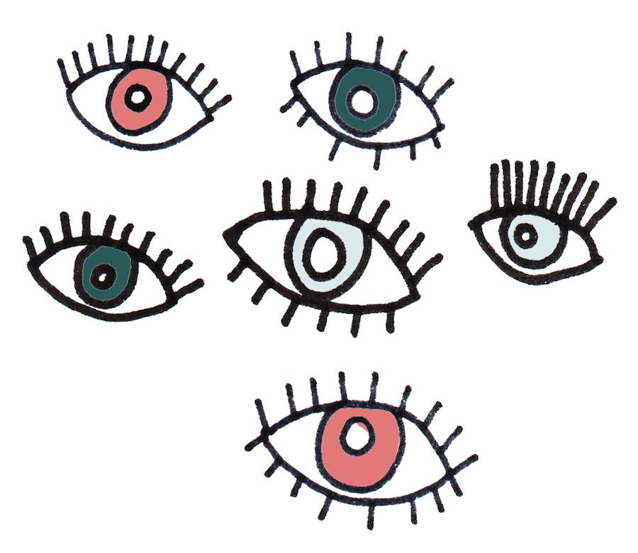 Bright Zine | Eyes | Lauren Marina.jpg