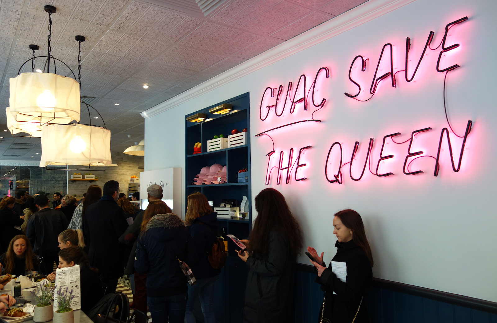 Bright Zine | By Chloe London Covent Garden Opening | Guac Save The Queen