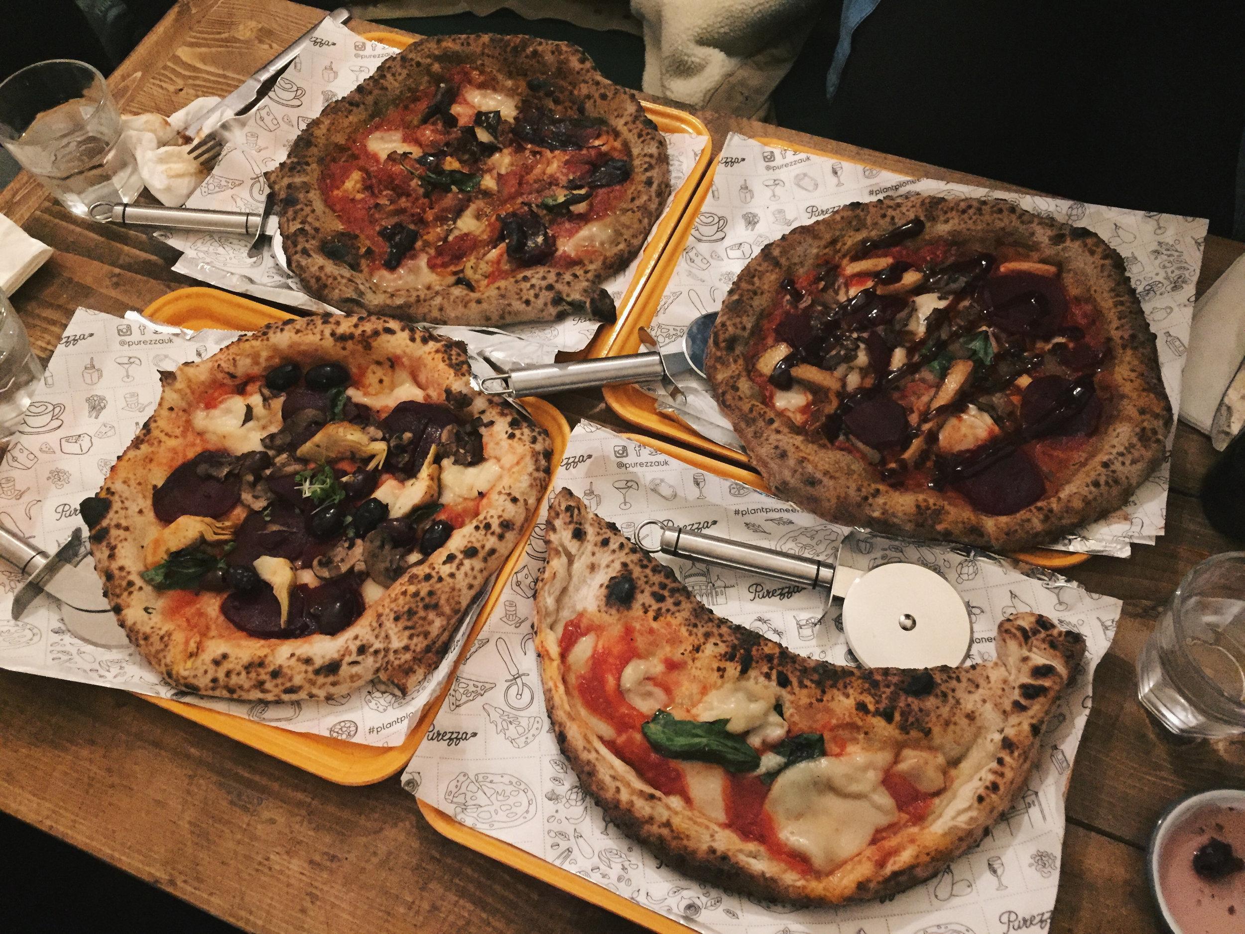 Bright Zine Ethical Lifestyle Purezza Brings Vegan Pizza