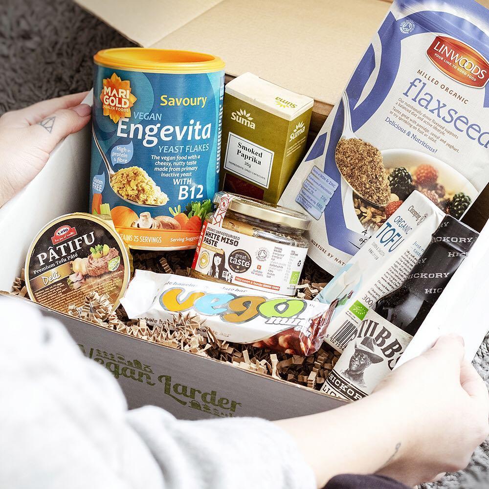 Box: The Vegan Larder