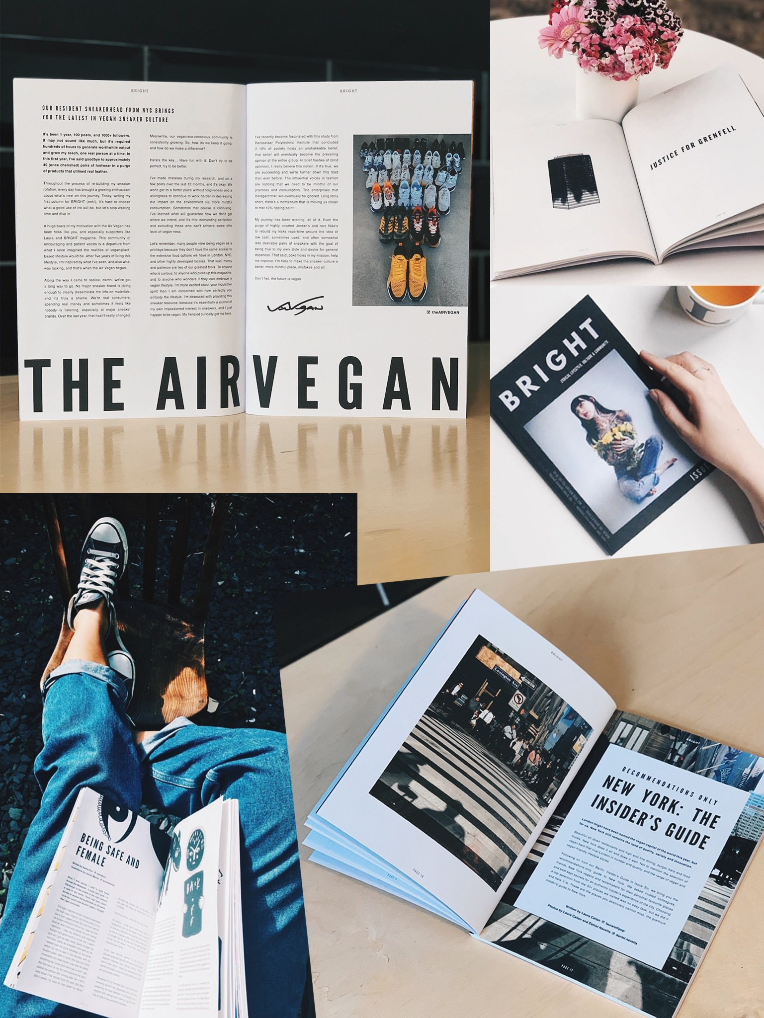 Magazine Collage - BRIGHT