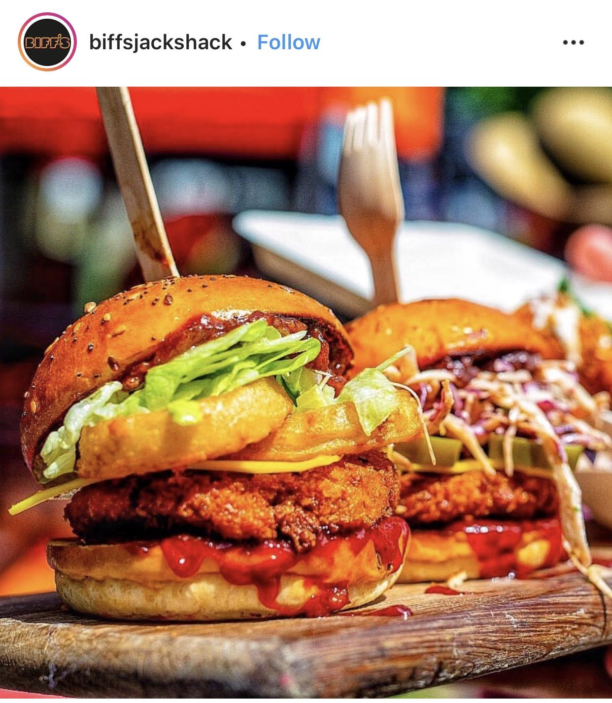 BRIGHT Zine | Best Vegan London Burgers - BIFFS Jack Shack Vegan Kitchen.jpg