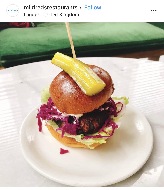 BRIGHT Zine | Best Vegan London Burgers - Mildreds.jpg