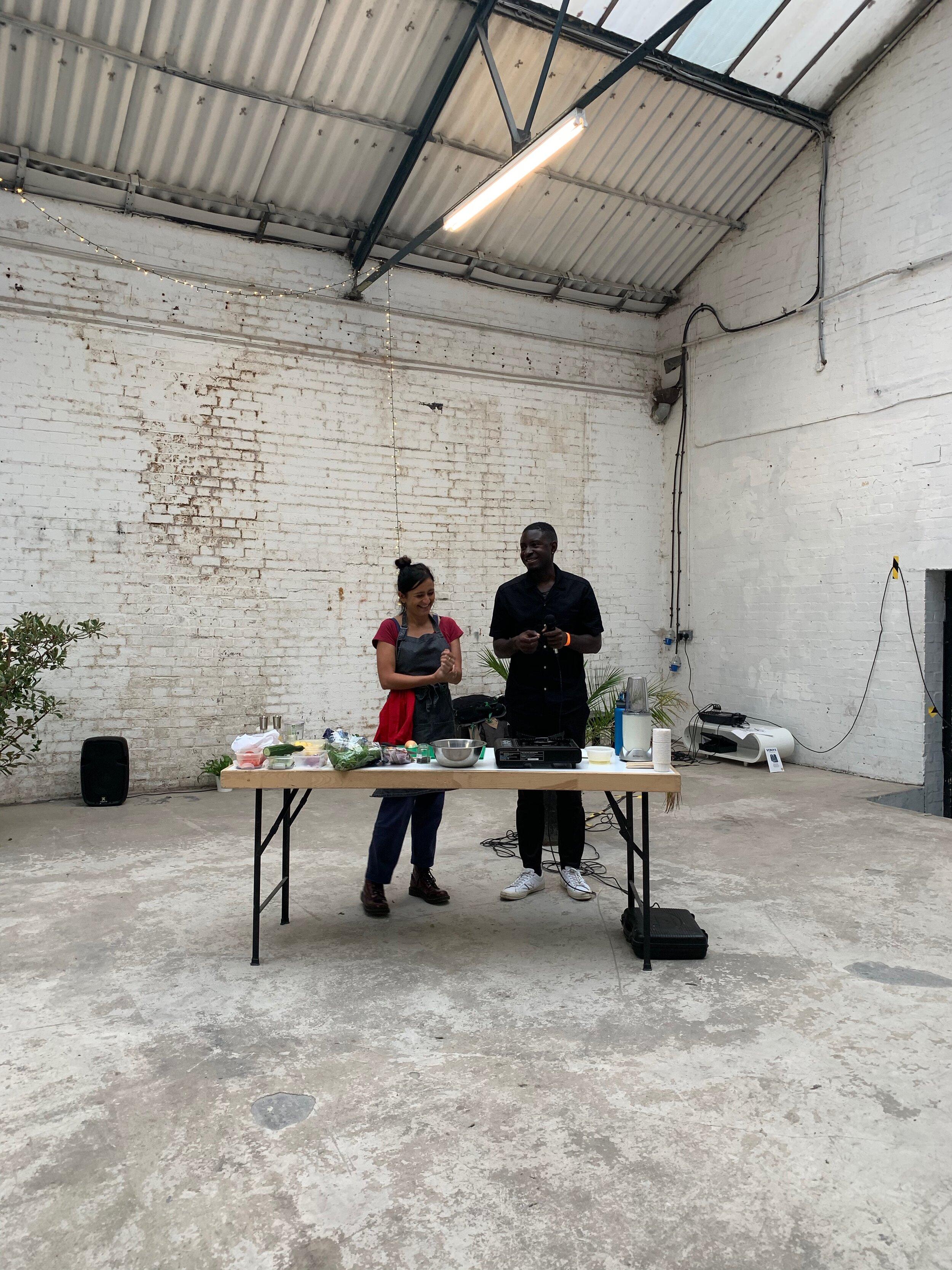 UK Vegans Of Colour   Sareta Puri cooking demo   BRIGHT Zine