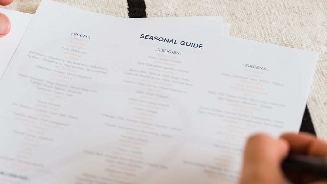 Seasonal Buying Guide