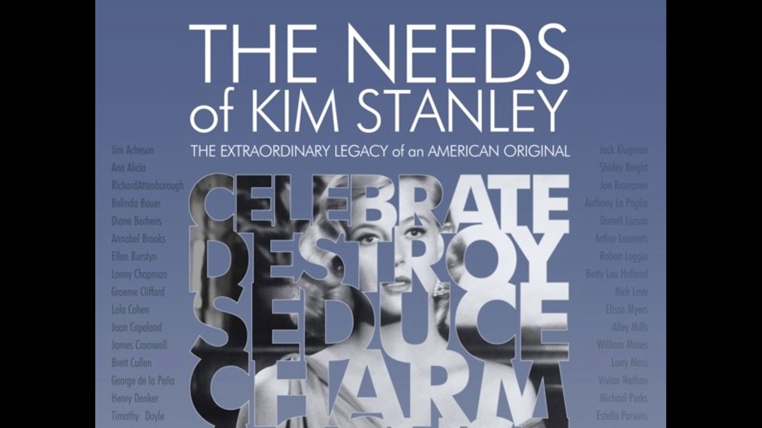 "Kim Stanley ""The Needs"""