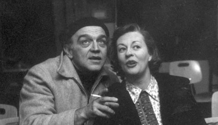 Herbert Berghoff & Uta Hagen