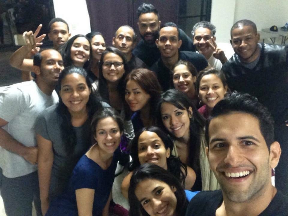Last day of Juan Fernández teaching in Santo Domingo.