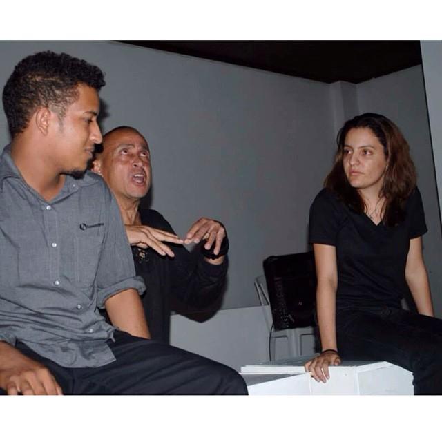 Juan Fernández teaching in Santiago DR.